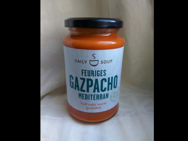 Feuriges Gazpacho Mediterran